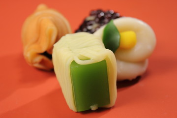 delicious Japanese style sweets food relaxation