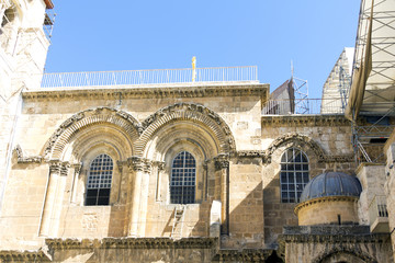 Temple of the Holy Sepulchre in Jerusalem, Israel, Summer 2013