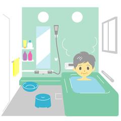 入浴 おばあさん