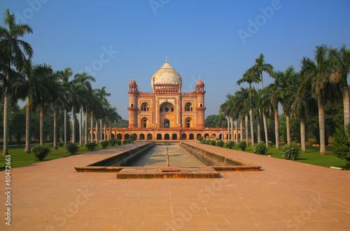 Tomb of Safdarjung in New Delhi, India - 80472663