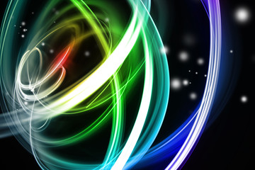 Colorful swirls abstract background