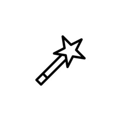 Wand - Trendy Thin Line Icon