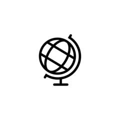 Globe - Trendy Thin Line Icon
