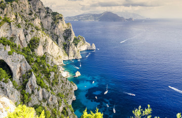 Capri - Island in Italy © lukaszimilena