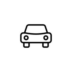 Car - Trendy Thin Line Icon