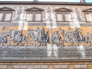 Dresden, Fürstenzug,