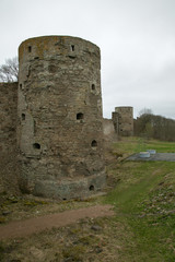 Old Ruined Castle Towers