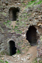 Caves in Old Ruined Fortress