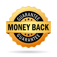 Money back vector icon