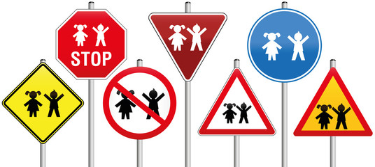 Road Signs Children