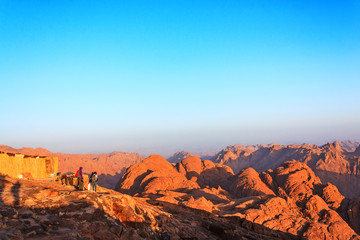 Sinai mountains at dawn