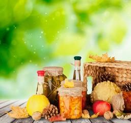 Diet. Balanced diet based on raw organic vegetables