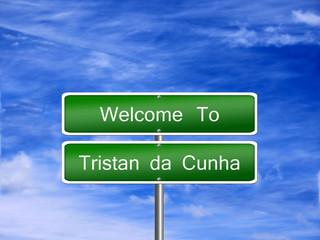 Tristan da Cunha Sign