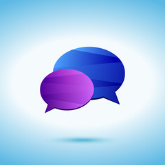 Conversation colored icon