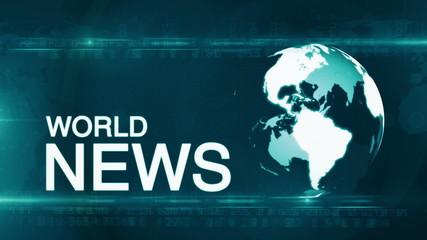 Globe World News background generic