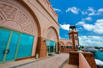 Buildings detail of Altlantis Bahamas