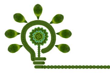 Ecology icon set.(Idea for leaf create)