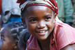 Very pretty malagasy child smiling in the vilage- poverty - 80488838