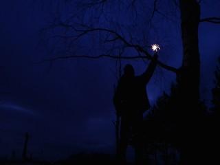 The signal at dusk