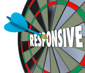 Responsive Word Dart Board Flexible Adaptive Reaction