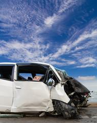 Sky cloud white car accident