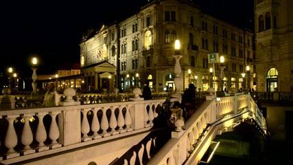 Ljubljana Trible bridge sLOVEnia
