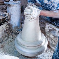 traditional hand-made porcelain