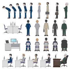 働く人々 / ビジネスマン