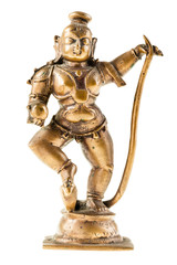 Bronze hindu goddess