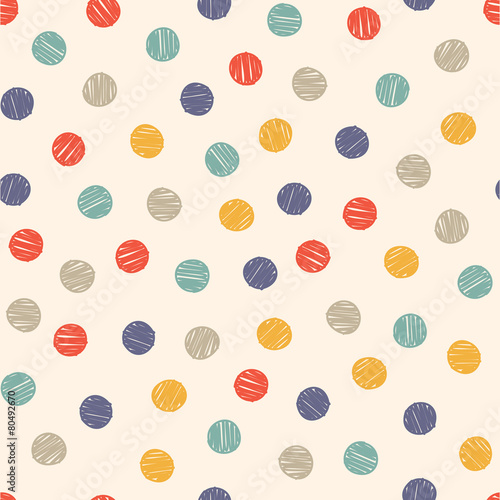 polka-dot-doodle-wzor