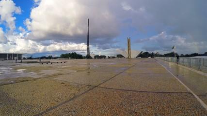 Praca dos Tres Poderes (Three Powers Plaza) in Brasilia