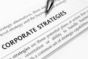 corporation strategy