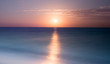 Beautiful beach sunrise