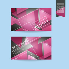 fashionable business card template design