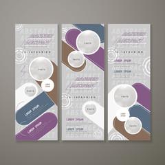 modern banner template design