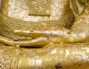 buddha's hand statue