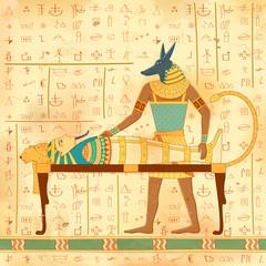 Egyptian art of human