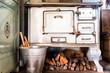 Leinwanddruck Bild - old kitchen