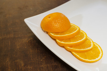 the cut orange