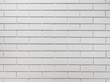 White brick tile wall background