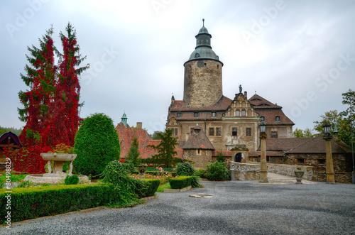 Czocha Castle, Poland. - 80498829