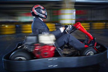 Karting businessman