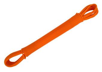 Plastic clothesline rope - orange