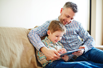 Modern technologies in family life