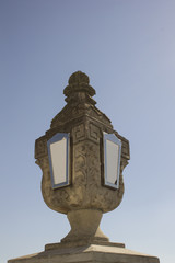 Street lamp in medieval style