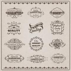 Quality Emblems Set
