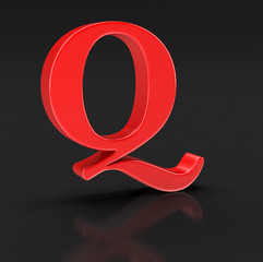 Letter Q (clipping path included)