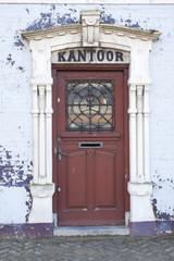 Old dutch office door