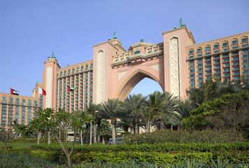 Отель Атлантис Палм в Дубае. ОАЭ.