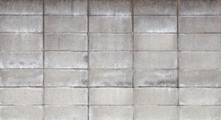 Concrete block wall background seamless and texture